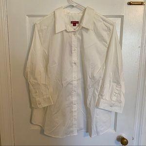Crisp White Button Down Shirt